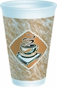 "Dart ""Caf G"" 16 oz. Stock Printed Foam Cup (16x16G) (1,000 cups)"