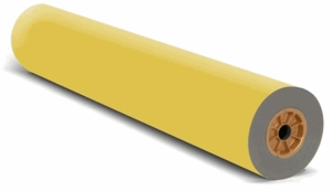 "36"" x 1,000' - Decorol Flame Retardant Art Paper (1 Roll) - Yellow"