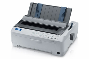 Epson LQ-590e - 24-pin Impact Printer, Narrow Format, Parallel & USB Interfaces