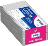 Epson SJIC22P(M) Ink Cartridge for Epson TM-C3500 - Magenta