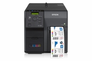 Epson TM-C7500G, ColorWorks 4 color glossy label printer, USB and Ethernet