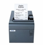 Epson Tm-l90 Thermal Label Printer Ethernet (ub-e03) Epson Dark Gray With Label Software Cd Includes Power Supply