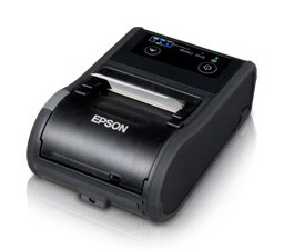 Epson TM-P60II, Mobile Receipt Printer, Bluetooth 2.1 + Edr, Epson Black, Battery, Belt Clip, USB Cable, Requires PS-11 or Ot-Ch60II To Be Charged