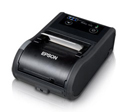 Epson TM-P60II, Mobile Receipt Printer, Bluetooth, Ios Compatible, Epson Black, Battery, Belt Clip, USB Cable, Requires PS-11 or Ot-Ch60II To Be Charged