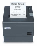 Epson Tm-t88 Restick 58mm Thermal Receipt Printer Serial Interface Epson Dark Gray 2 Color Capable Ps-180 Included