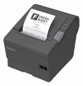 Epson T88v Thermal Receipt Printer - Energy Star Rated Epson Dark Gry Ethernet & usb Interface Power Supply Included