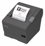 Epson Tm-t88v Thermal Receipt Printer - Energy Star Rated Epson Dark Gry Ethernet & usb Interface Power Supply Included