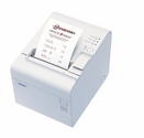 Epson T90-014 Thermal Receipt Printer Serial Epson Cool White 2 Color Capable Power Supply Included