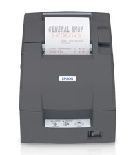 Epson TM-U220A - Impact/Receipt Printer, USB, Dark Gray, Autocutter & Take Up Journal, Power Supply Included