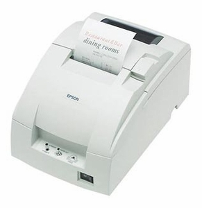 Epson TM-U220B - Impact/Receipt Printer, Ethernet (E03), Cool White, Autocutter, Power Supply Included
