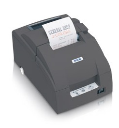Epson TM-U220D - Impact/Receipt Printer, USB, Dark Gray, No Autocutter, Power Supply Included