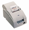 Epson U220pb-653 Dot Matrix Receipt Printer Parallel Epson Dark Gray Autocutter Power Supply Included