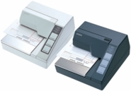 Epson Tm-u295p-262 Dot Matrix Slip Printer Parallel Epson Dark Gray Requires Power Supply