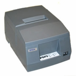Epson Tm-u325-931 Dot Matrix Receipt & Validation Printer Usb No Display Module Or Hub Port Epson Dark Grey with Power Supply
