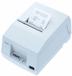 Epson Tm-u325d-031 Dot Matrix Receipt & Validation Printer Serial Epson Cool White Power Supply Included