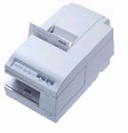 Epson Tm-u375p-012 Dot Matrix Receipt Slip & Validation Printer Parallel Epson Soft Gray Requires Power Supply