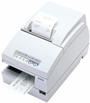 Epson Tm-u675 Dot Matrix Receipt Slip & Validation Printer Usb No Display Module/Hub Port-Cool White No Micr No Autocutter
