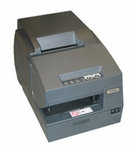 Epson Tm-u675 Dot Matrix Receipt Slip & Validation Printer Usb No Display Module/Hub Port-Dark GrAy No Micr No Autocutter