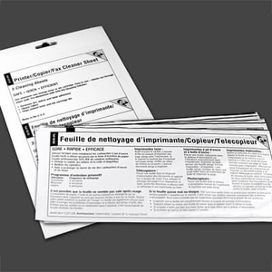 "EZ Printer / Copier / Fax Cleaner Sheet (8.5"" x 11"") (5 / Env)"