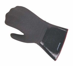 "Fryer Neoprene Oven Mitt - Protects to 500F 17"" Length"