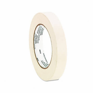 "General Purpose Masking Tape, 3/4"" x 60 yards, 3"" Core, 6/Pack"