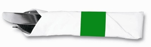 """4 1/2"""" x 1 1/2"""" Paper Napkin Bands (2,000 bands/pack) - Green"""