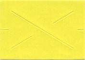 GX 1812 Garvey Yellow Blank Labels (14,000 Labels)