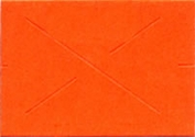 GX 2212 Garvey Fluor Red Blank Labels Case (20 sleeves/case)(11,000 Labels/sleeve)