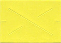 GX 2212 Garvey Yellow Blank Labels (11,000 Labels)