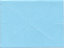 GX 2216 Garvey Blue Blank Labels (9,000 Labels)