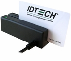 ID Tech, MiniMag, MSR, Tracks 1,2, and 3, USB Keyboard Emulation, Black
