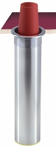 In-Counter Mount Bev Cup Dispenser - 32-46 Oz - Vertical