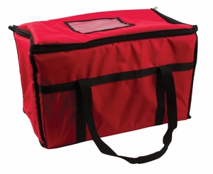 Insulated Food Carrier - Large Size - Red