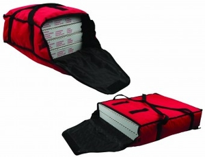 Insulated Food Carrier - Medium Size - Red