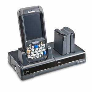 Intermec Desktop Dock For Cn70 &cn70e Includes Na Power Cord Flexdock Holds 1 mobile Cpu & 1 Charger Supports 2 Battery Packs