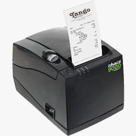 Ithaca 9000, Thermal Printer, 3 In 1, Plain or Sticky Paper, 40 58 or 80mm Paper Size, USB and Ethernet, Epson Emulation, Dark Gray Cabinetry, Replaces 280-Eth-Dg-Eps
