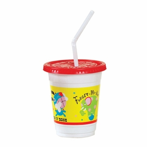 Kids Cup Combo Cup/Lid/Straw (250 ct)