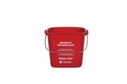 Kleen-Pail 6Qt - Red