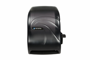 Lever Roll Towel - w/Auto Transfer - Oceans - Black Pearl
