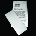 Lottery Ticket Validator/Optical Mark Reader Cleaning Cards (25 / Box) *Clearance*