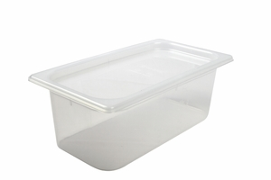 Mod Pans - 1/3 Food Pan with Lid - 51/8/ (384 mm) Deep - 4 Qt
