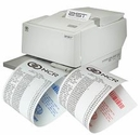 "NCR (2ST) Two Sided Thermal Paper 3 1/8"" x 273' (Black/Black) 25 Rolls"