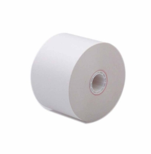"Tidel & Nextran Comnet  3 1/8"" x 430'  ATM Heavyweight Thermal Receipt Paper  (8 rolls/case) - No Sensemarks"