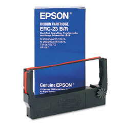OEM Epson ERC 23 Printer Ribbons (1 per box)