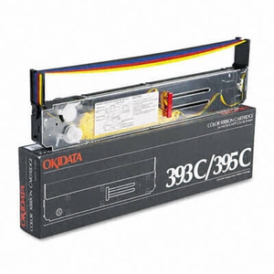 OEM Okidata ML 393C/395C Printer Ribbons (1 Ribbon) - 4 Color