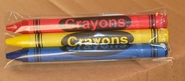 Premium 3 pack Crayons (720 packs per case)