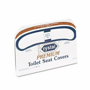 Premium Half-Fold Toilet Seat Covers, 250 Covers/Box, 20 Boxes/Carton