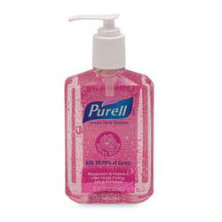 Purell Spring Bloom Scented Hand Sanitizer, 8 Ounce (1 Bottle)