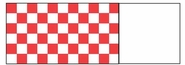 Napkin Bands (20,000 bands/case) - Red/White Check
