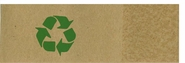 Recycled Brown Kraft with Green Emblem Napkin Bands (20,000 Bands)